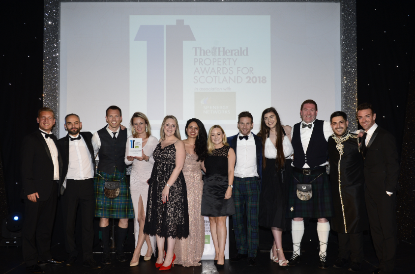 Umega Lettings is The Herald Property Awards Residential Letting Team of the Year
