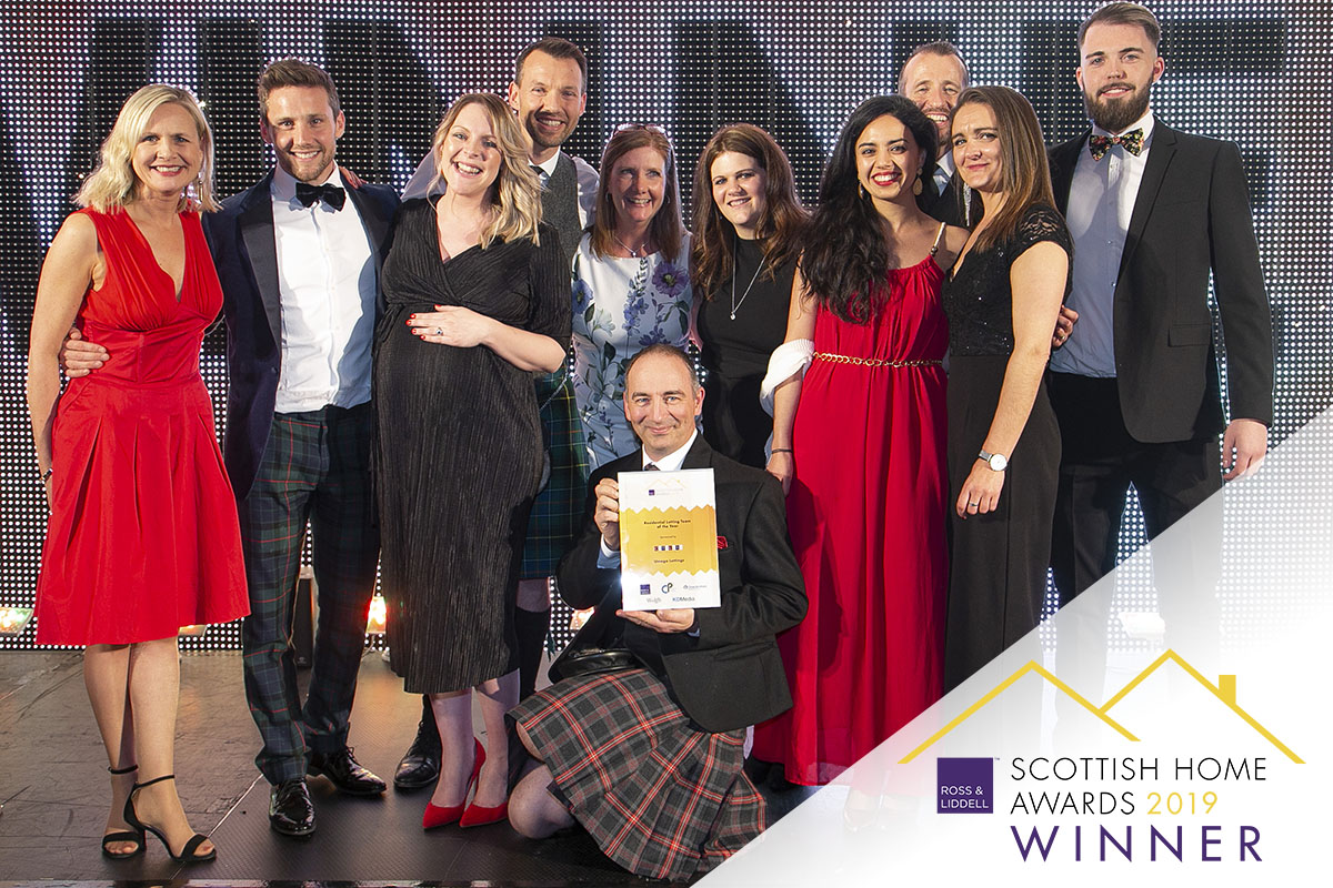 Umega is the Residential Lettings Team of the Year 2019