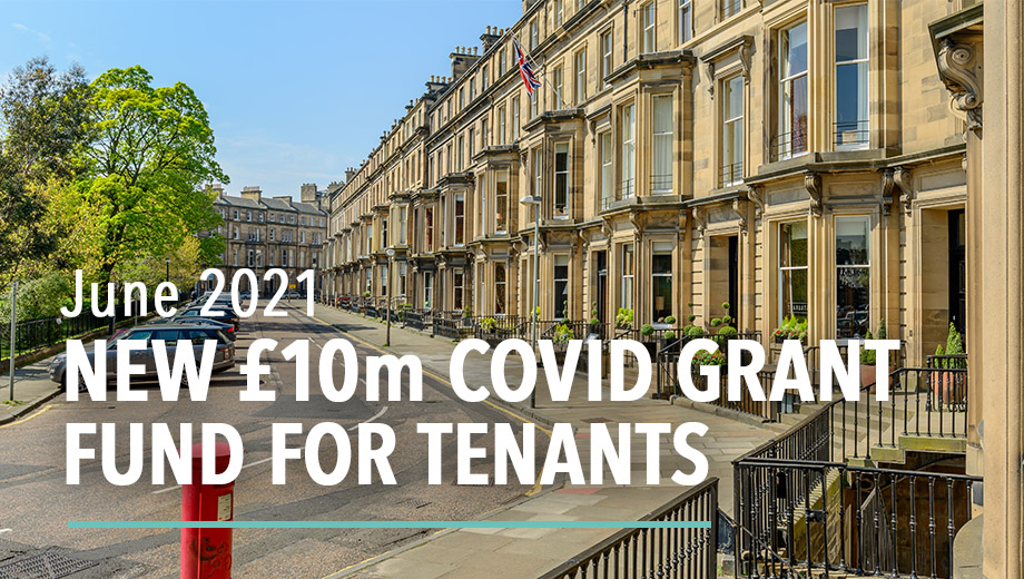 New COVID grant fund for tenants - June 2021