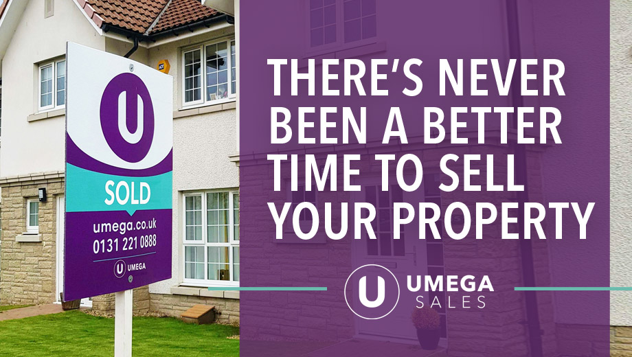 There's never been a better time to sell your property