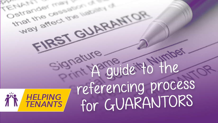 A guide to the referencing process for Guarantors