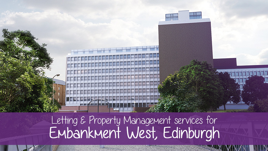 Letting & Property Management services for Embankment West, Edinburgh