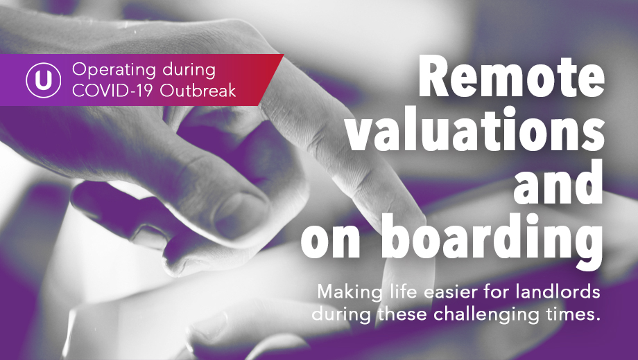 Remote Valuation and on boarding