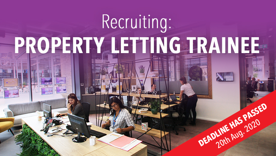Recruiting - Property Letting Trainee