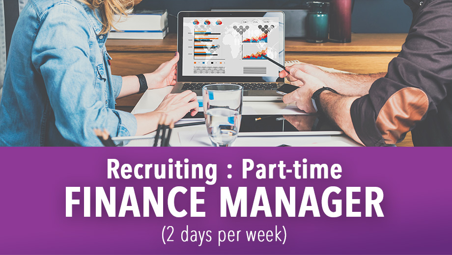 Recruiting : Finance Manager - Part-time