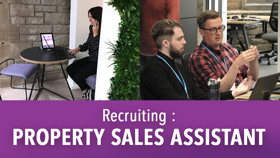We're Hiring: Property Sales Assistant