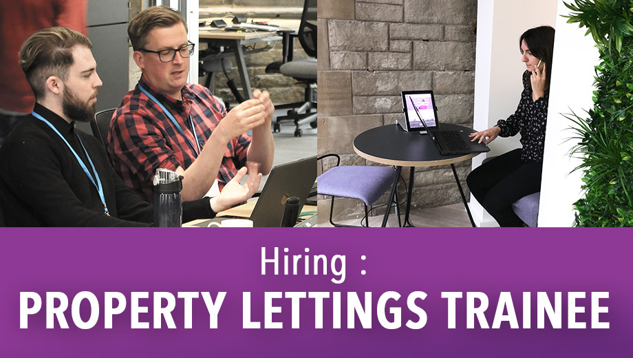 HIRING: PROPERTY LETTING TRAINEE
