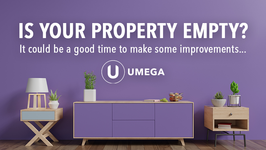 Is your property empty? It could be a good time to make some improvements