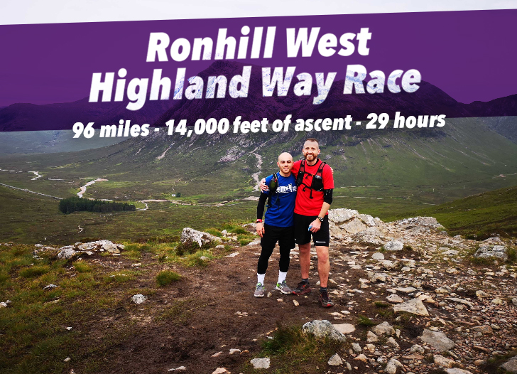 Mike & Mo run the West Highland Way race
